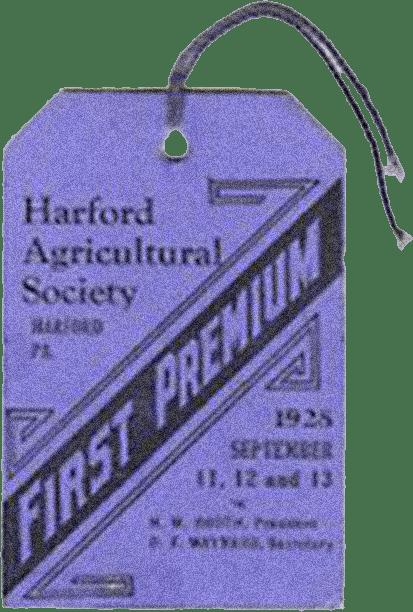 vintage fair tag