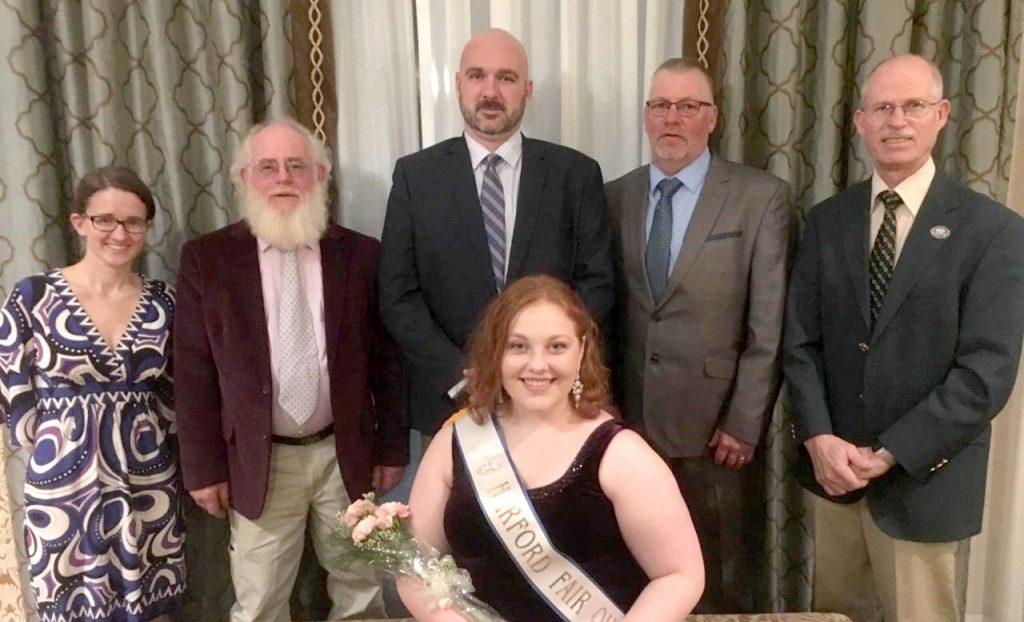 Fair Queen with Board of Directors
