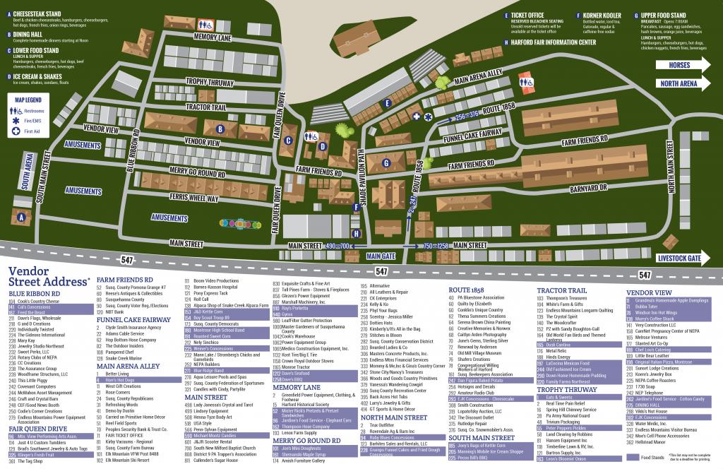 Fair Map